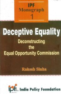 Deceptive Equality: Deconstructing the Equal Opportunity Commission