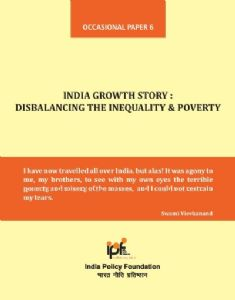 India Growth Story: Disbalancing the Inequality & Poverty