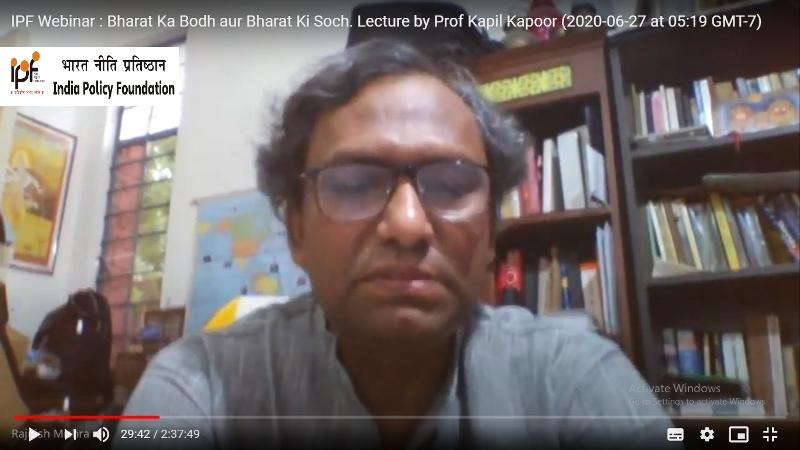 Bharat ka Bodh aur Bharat