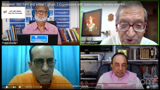 IPF-NIE Discussion on Bhagwan Shri Ram and Indian Culture