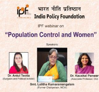 IPF Webinar on Population Control and Women